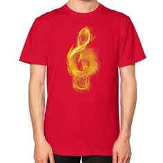 Music Reborn Unisex T-Shirt (on man)