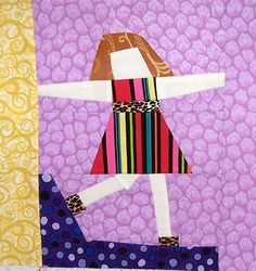 free pieced girl by Jenny S