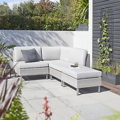 Buy Grey Marl John Lewis & Partners Madrid Outdoor Modular Corner Unit from our Garden Seating range at John Lewis & Partners. Free Delivery on orders over Outdoor Furniture Online, Home Bar Furniture, Buy Furniture Online, Luxury Furniture, Garden Furniture, Modular Lounges, Acrylic Furniture, Corner Unit, Outdoor Chairs