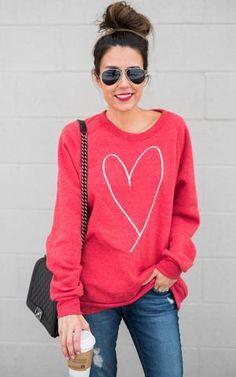 Ily Couture Heart Sweatshirt