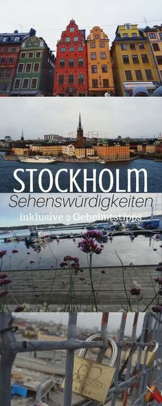 Wer eine Reise nach Stockholm plant, findet hier super Reisetipps und Sehenswür… If you are planning a trip to Stockholm, you will find great travel tips and sights, including 2 insider tips for the city. Stockholm Travel, Visit Stockholm, Honeymoon Tips, Honeymoon Cruise, Travel Goals, Travel Tips, Sweeden Travel, Holiday City, Reisen In Europa