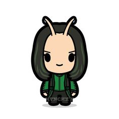 """You feel.... Love!"" #mantis #pomklementieff #guardiansofthegalaxy #marvel #cute - mvnchk"