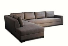 OCÉAN — Furniture and Lighting, Seats, Sofas — Liaigre Corner Sofa With Storage, Corner Sofa Design, Family Room Sectional, Living Room Sofa, Corner Sectional, Sectional Sofas, Sofa Furniture, Furniture Design, Furniture Ideas