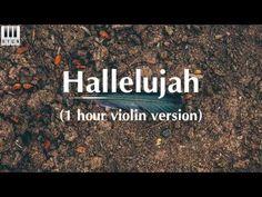 Hallelujah - Violin Cover || 1 Hour Version - YouTube