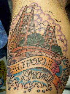 And who wouldn't be California dreamin' with a nice Golden Gate Bridge like this?