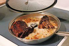 Lamb Mandy - A smoky flavoured  Lamb .An Arabic dish.