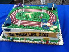 Track &amp Field Cakes  Running Cake cakepins.com