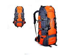 FW 80L professional climbing Kit outdoor sports waterproof backpack *** For more information, visit now : Backpacking gear