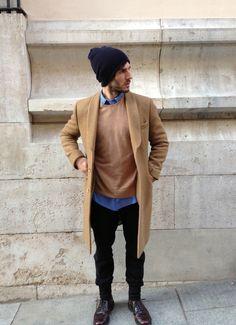 Camel coat Quim Gutierrez