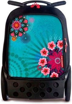 Mochila Trolley, Unisex, Lunch Box, Stationery, Backpack Brands, Big Wheel, Pockets, Paper Mill, Stationery Set