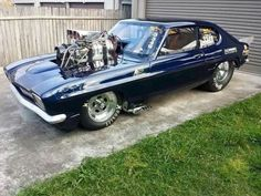 Aussie Muscle Cars, American Muscle Cars, Ford Pinto, Drag Bike, Street Racing Cars, Ford Capri, Ford Classic Cars, Drag Cars, Cool Trucks