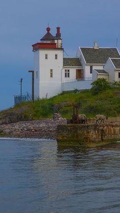 Bastøya lighthouse - Norway
