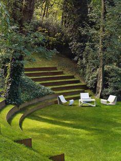 Sunken Garden - Architectural Digest