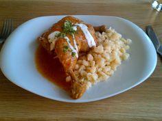 Paprika chicken with spaetzle @ Restaurant Hochmann's