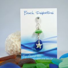 Sea Glass Pendants - Beach Inspirations Jewelry by Cheryl Ann