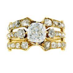 Antique Engagement Ring, Circa 1895, from Doyle & Doyle @doyledoyle