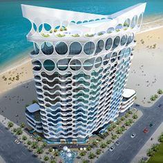 Pixel Tower in Dubai, UAE by James Law Cybertecture