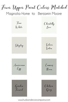 """When I started my home renovation I of course went to the experts on """"rustic farmhouse"""" renovations Chip and Joanna Gaines for all things home renovation including paint colors. This was one of my favorite things to pick out so I thought I would share with you some ideas and inspiration wi"""