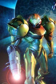 "Samus from the Nintendo ""Metroid"" series"