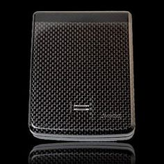 The iWallet is made from either carbon fiber, fiberglass, or Kevlar, can only be opened with his specific fingerprint scan, and has its own app that will alert him when the wallet is more than 15ft away from his phone. In short, a thief will have a harder time getting money out of your dad than you do.