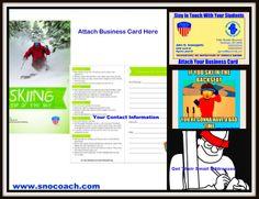 For a ski instructor social media client