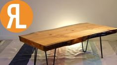 How To Turn a tree into a table including flattening wood with a router https://youtu.be/JlyGAAGMSDw