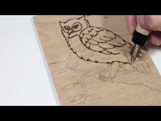 (The Basics) How to Wood Burn - YouTube