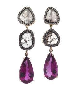Pink! Oorbellen. Earrings #Oorbellen #Earrings #Juwelen #Jewelry #LillyZeligman  www.lillyzeligman.com