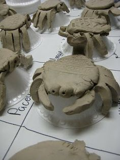Mini Matisse: Clay Texture Bugs