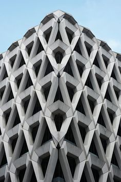 London's Welbeck Car Park designed by Michael Blampied & Partners, 1971. Photography: Jo Underhill