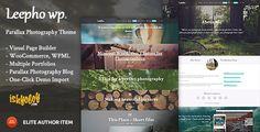 Leepho WP - Parallax #Wordpress #Responsive Template - #html5 #css3 #jquery slider ready