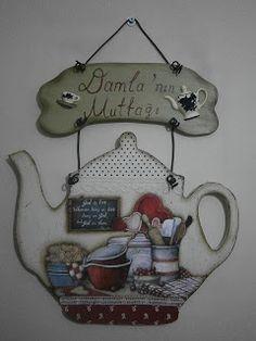 Sanat DAMLA' sı: mutfak duvarı yada kapısı için...