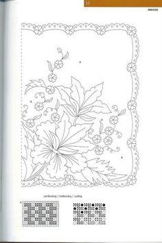 Fleur type pergamano