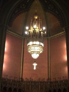 Sanctuary Lantern. Tiffany. Church of the Covenant.