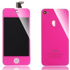 $47.99     iPhone Color Conversion Kits LCD Assembly Repair Parts For iPhone 4 - Bright Pink (For iPhone 4 CDMA Verizon Only) by Yoyobase, http://www.amazon.com/dp/B009ERXDPY/ref=cm_sw_r_pi_dp_ZEFQqb1KSBWHH