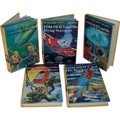 I have this book and i love it dragonology the complete book of set of 5 tom swift adventure books 1954 1964 fandeluxe Gallery