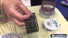 Sara Ellis Demos Bracelet Weaver