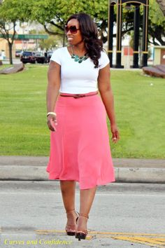 Curves and Confidence | Inspiring Curvy Women One Outfit At A Time: April 2013