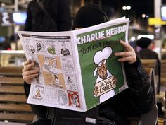 Charlie Hebdo Cover in Paris on Wednesday January 14, 2015