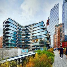 "The recently completed ""520 West 28th"" offers 39 private residences adjacent to Manhattan's High Line. The 11 storey structure - clad in glass and hand crafted steel, nodding to Chelsea's industrial past - is Zaha Hadid Architects' first project in New York (image courtesy of Hufton + Crow)."