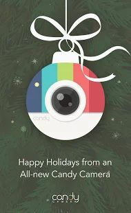 Candy Camera - Selfie Selfies: miniatura de captura de pantalla