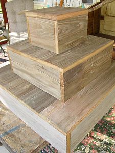 wood slice cupcake stand | Wood Wedding Cake Cupcake Plate Stand Stands Platter Rustic EBay