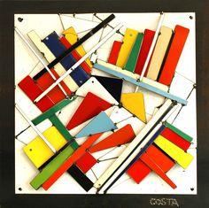 COSTA - Galerie Art Jingle Street Art, Galerie D'art, Paris, Contemporary, Contemporary Art