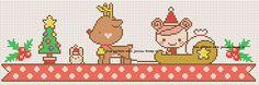 Χειροτεχνήματα: Μικρά μοτίφ για Χριστουγεννιάτικα κεντήματα / Small cross stitch Christmas motifs