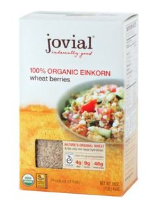 Jovial Organic Einkorn Wheat Berries, 16.0-Ounce - http://goodvibeorganics.com/jovial-organic-einkorn-wheat-berries-16-0-ounce/