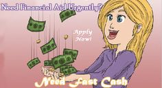 Apply for a fast cash loan and you will get cash within 24 hours. Don't be bothered, If your credit score is not good. We can arrange cash according to your needs without any hassle. No need to fax any document or pay application process fee. Get instant relief from your urgent cash need, now.
