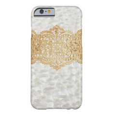 Elegant Gold Style Pearl Pattern IPhone 6 Case