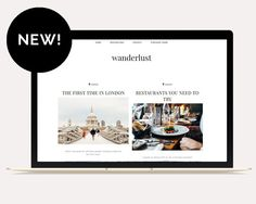 Welcome to Wanderlust Template - the perfect Blogger Template for travel, lifestyle and fashion bloggers, and all those who love travelling