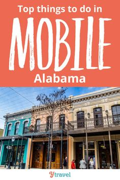Best things to do in Mobile, Alabama. Things to do, attractions to see, local restaurants and food and where to eat and drink, hotels and places to stay, and more.  This travel guide will help you plan your road trip or vacation with kids! #Mobile #Alabama