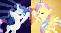 My Little Pony List, My Little Pony Comic, My Little Pony Friendship, Celestia And Luna, Princess Twilight Sparkle, Mlp Comics, Mlp Fan Art, Twin Sisters, Fluttershy